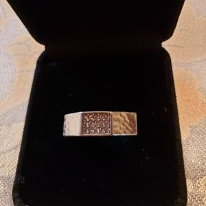 Brighton Meridian Zenith silvertone ring